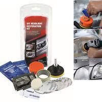 Car Headlight Lens Restoration System Professional Restorer Polishing Tool Kit z
