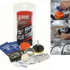 Car Headlight Lens Restoration System Professional Restorer Polishing Tool Kit