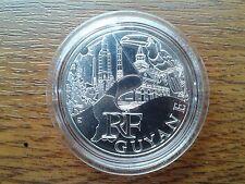 france 10 euros argent 2011 guyane