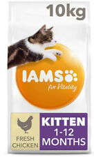 IAMS for Vitality Dry Kitten Food with Fresh Chicken - 10 kg