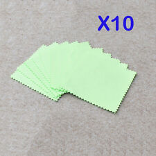 10pcs New Polishing Cloth Jewelry Silver Gold Platinum Cleaner Anti-tarnish