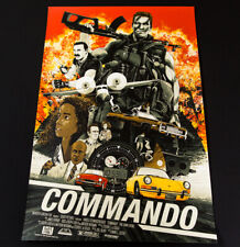 Commando Limited Edition Screen Print Poster by Mondo Artist KAKO Edition of 25