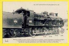 cpa Fleury PARIS LOCOMOTIVE PLM de 1910-1911 TRAIN MACHINE FRENCH Chemins de Fer