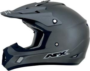 2021 AFX FX-17 Solid MX Motocross Offroad ATV Dirt Bike Helmet Pick Size & Color