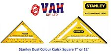 """Stanley Roofing/Rafter Angle Marking Out Quick Square/Triangle 175mm 7"""" STA46010"""