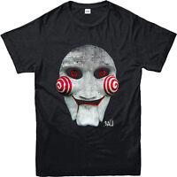 SAW Mask T-Shirt, SAW Movie Jigsaw Inspired Design Top