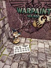 Chaos star. Warhammer 40k. Age of sigmar. Mini stickers.
