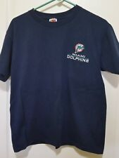 Miami Dolphins T Shirt Size M