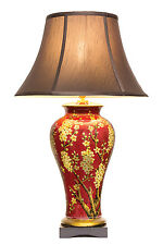 Large Oriental Ceramic Porcelain Table Lamp M9065(D) - Chinese Mandarin Style