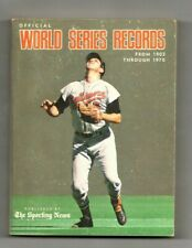 WORLD SERIES RECORDS 1903-1970 The Sporting News Orioles vs. Reds B. Robinson