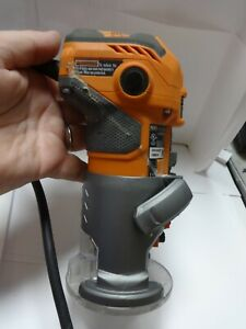 RIDGID R2401 5.5 Amp Corded Compact Fixed-Base Router