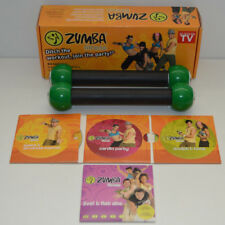 Zumba Fitness Set-Tonificante Per Bastoncini - 6 gli allenamenti su 4 DVD CARDIO/ABS/Scultura/tono