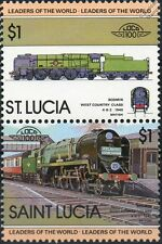 1945 SR Bodmin 4-6-2 West Country Class No.34016 Train Stamps / LOCO 100