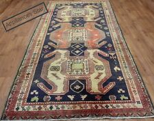 OLD WOOL HAND MADE PERSIAN ORIENTAL FLORAL RUNNER AREA RUG CARPET 337 X 140CM