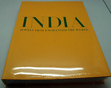 "Russian Book Huge album ""India jewels that enchanted world"" catalog gems gold"