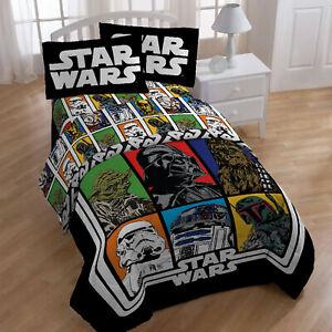 Disney's Star Wars REVERSIBLE Twin/Full Comforter