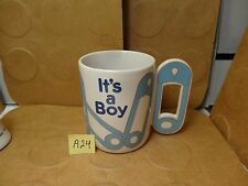 It's A Boy Gift Mug, Teleflora Gifts (Used/Euc)