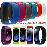 Soft Luxury Sport Silicone Watch Band For Samsung Gear Fit 2 SM-R360 Wristband
