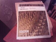Alec Rowley: Benedictus, organ (Novello)