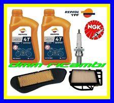 Kit Tagliando YAMAHA X-CITY 250 11>12 Filtri Aria Olio REPSOL Candela 2011 2012