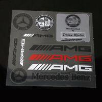 10 Pcs AMG Universal Decal Sports Sticker Emblem Badge Logo Fits All S157