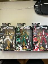Sabans Legacy Power Rangers Mighty Morphin 6.5 in. Figure Lot