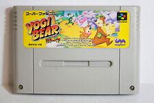 Adventure of YOGI BEAR SFC Nintendo Super Famicom SNES Japan Import US Seller
