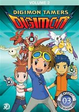 DIGIMON TAMERS VOLUME 2 New Sealed 3 DVD Set 17 Episodes from Season 3