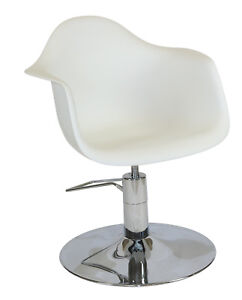 New Hairdressing Chair white for Hairdressing Salon FREE DELIVERY NSW METRO