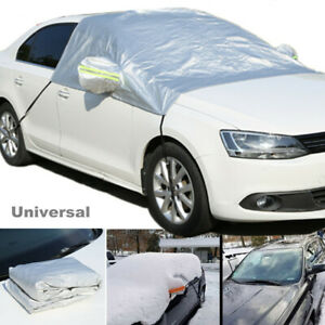 Windshield Snow Cover Ice Removal Wiper Visor Protector All Weather Car SunShade