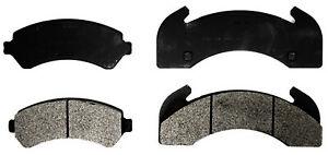 Disc Brake Pad Set-Semi-Metallic Front,Rear ACDelco 17D225M