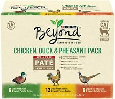 Hot - Purina Beyond Grain Free, Natural, Adult Wet Cat Food - Free ship - New