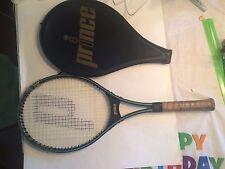 Vintage Prince Graphite Fiberglass Tennis Raquet with Case