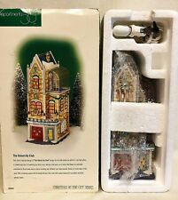 Pristine! 1998 Dept 56 Christmas in the City The University Club # 58945