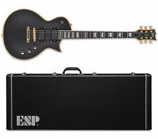 ESP LTD EC-1000 VB Vintage Black Deluxe Series EMG - NEW + ESP HARD CASE