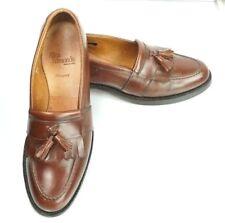 Allen Edmonds Men's Size 8 1/2 A Newport Kiltie Tassel Brown Leather Loafer 8.5A