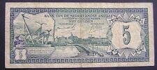Nederlandse Antillen Netherlands Antilles - 5 gulden 1967 - 28-8-1967 PICK 8-A