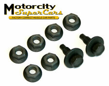 1964-72 GM A-Body Bucket Seat Mounting Hardware 8pc Set Nuts Bolts