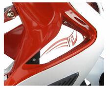 Yamaha Aerox 100 Polished Air Vent Leg Shield Cover for Yamaha Aerox and MBK Nit