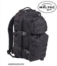 89936cd10d Zaino Tattico militare esercito softair miltec nero molle originale da uomo