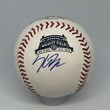 Kris Bryant signed Rawlings Official Wrigley Field baseball Beckett Cubs A162