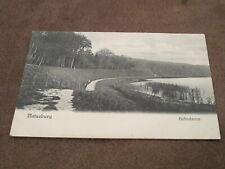 Early German  postcard - Bahndamm - Ratzeburg