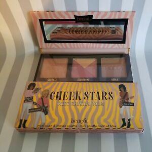 Benefit Cosmetics Cheek Stars MINI Reunion Tour Blush Bronze Palette Hoola NIB