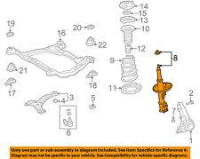 TOYOTA OEM 2004 Camry Front Suspension-Strut Left 48520A9260
