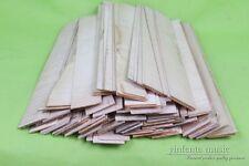 45pcs 4/4 3/4  violin side sheet flamed maple wood european tone wood #443