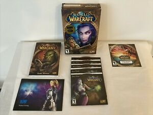 GAME OF THE YEAR: WORLD OF WARCRAFT PC COMPUTER VIDEO GAME ~ D15