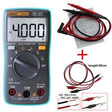Digital An8000 LCD Auto Multimeter Ammeter AC DC Voltage Ohm Tester Voltmeter UK