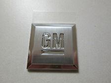 2007-2010 CHEVROLET CAMARO SILVERADO 1.25 GM SQUARE FRONT DOOR EMBLEM 15223483
