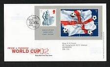GB 2002 FDC World Cup Football  ,Wembley postmark stamps