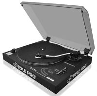 NEW PylePro PLTTB3U Belt Drive USB Turntable with Digital Recording Software
